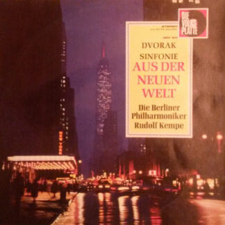 Antonín Dvořák, Berliner Philharmoniker, Rudolf Kempe - Aus Der Neuen Welt (LP)