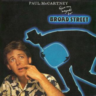 Paul McCartney - Give My Regards To Broad Street (LP, Album, Gat)