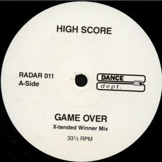 High Score - Game Over (12