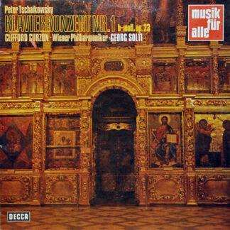 Peter Tschaikowsky*, Curzon*, Vienna Philharmonic Orchestra*, Solti* - Klavierkonzert Nr. 1 b-moll, op.23 (LP)