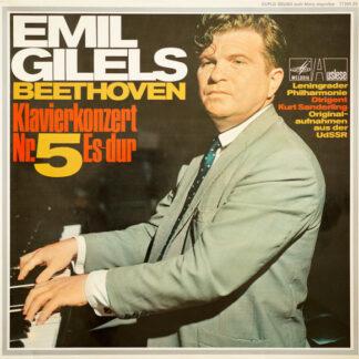Ludwig van Beethoven, Emil Gilels - Klavierkonzert No. 5 Es-dur (LP)
