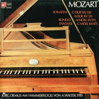 Jörg Demus, Mozart* - Sonaten C-Dur KV 330, A-Dur KV 331 / Rondo A-Moll KV 511 / Fantasie C-Moll KV 475 (2xLP)