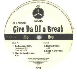 DJ Eclipse (3) - Give Da DJ A Break (12