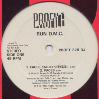 Run-DMC - Faces / Back From Hell (Remix) (12