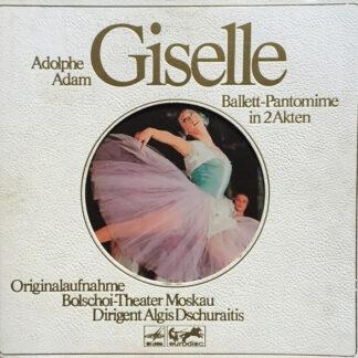 Adolphe Adam*, Bolschoi-Theater Moskau* Dirigent Algis Dschuraitis* - Giselle (Ballett-Pantomime In 2 Akten) (2xLP, RE + Box, die)