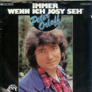 Peter Orloff - Immer Wenn Ich Josy Seh' (7