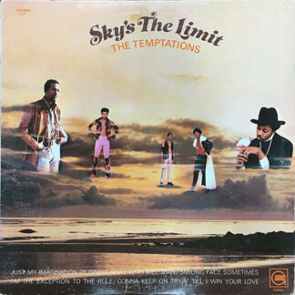 The Temptations - Sky's The Limit (LP, Album)