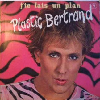 Plastic Bertrand - J'te Fais Un Plan (LP, Album, Gat)