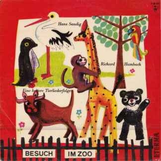 Hans Sandig - Besuch Im Zoo. Eine Heitere Tierliederfolge Für Kinder (10