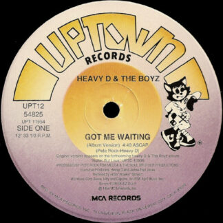 Heavy D. & The Boyz - Got Me Waiting (12