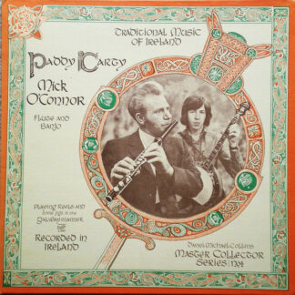 Paddy Carty - Mick O'Connor (2) - Traditional Music Of Ireland (LP, Album)