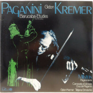 Gidon Kremer, Niccolò Paganini - Etüde in 60 Variationen über das Genaueres Lied