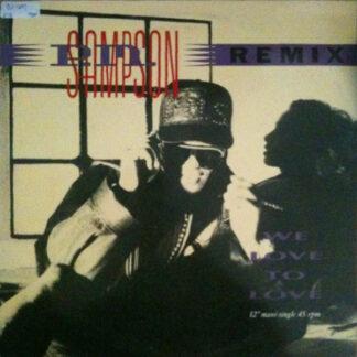 P.M. Sampson - We Love To Love (Remix) (12