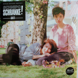 Schnipo Schranke - Satt (LP, Album + CD, Album)