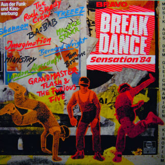 Various - Breakdance Sensation '84 (LP, Club, Mixed)