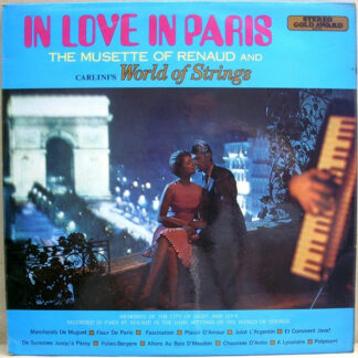 Renaud (11) And Carlini's World Of Strings - In Love In Paris (LP, Album)