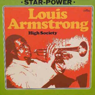 Louis Armstrong - High Society (LP, Comp, RE)