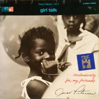 Oscar Peterson - Girl Talk (LP, Album, RE)