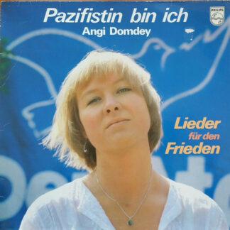 Angi Domdey - Pazifistin bin ich (LP, Album)