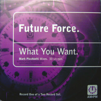 Future Force - What You Want (Mark Picchiotti Mixes) (12
