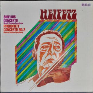 Heifetz*, Sibelius*, Prokofieff* - Concerto / Concerto No. 2 (LP, Comp)
