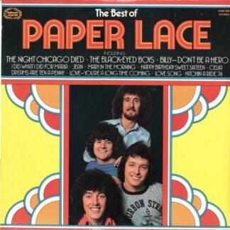 Paper Lace - The Best Of Paper Lace (LP, Comp, Blu)