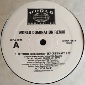 Sky Cries Mary / Low Pop Suicide w/ Contagion - World Domination Remix (12