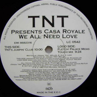 TNT (3) Presents Casa Royale - We All Need Love (12