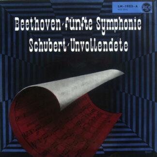 Beethoven*, Schubert*, Charles Munch, Boston Symphony Orchestra - Symphony No.5 in C Minor / Symphony No.8