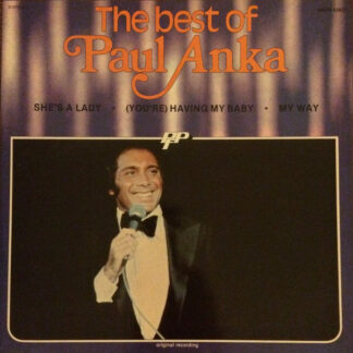 Paul Anka - The Best Of Paul Anka (LP, Comp)