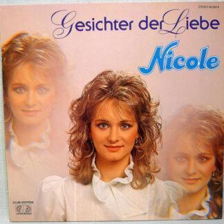 Nicole (2) - Gesichter der Liebe  (Club-Edition) (LP, Album)