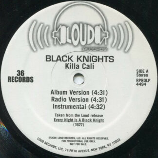 Black Knights - Killa Cali (12