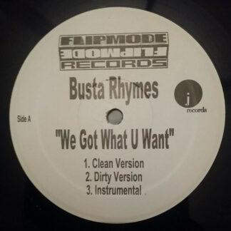 Busta Rhymes - We Got What U Want (12