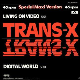 Trans-X - Living On Video / Digital World (12