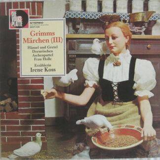 Irene Koss - Grimms Märchen (III) (LP)