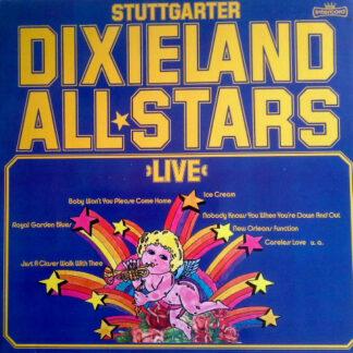Stuttgarter Dixieland All Stars - Live (2xLP, Album, RP)