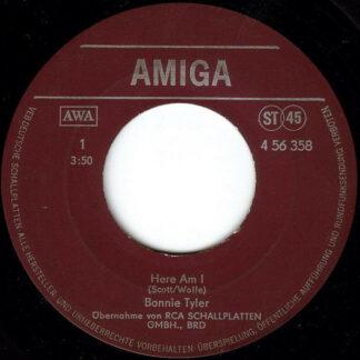 Bonnie Tyler - Here Am I / It's A Heartache (7