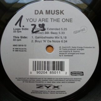 Da Musk - You Are The One (12