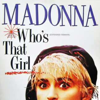 Madonna - Who's That Girl (Extended Version) (12