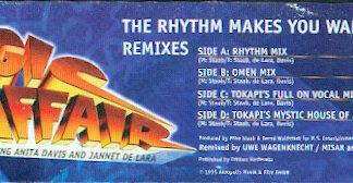 Magic Affair - The Rhythm Makes You Wanna Dance - Remixes (2x12