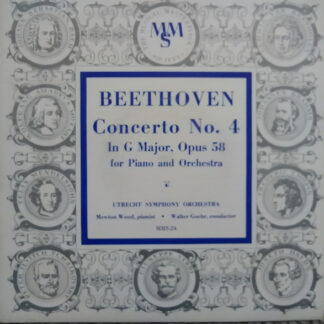 Beethoven*, Utrecht Symphony Orchestra*, Mewton-Wood, Walter Goehr - Concerto No. 4 In G Major, Opus 58 For Piano And Orchestra (10
