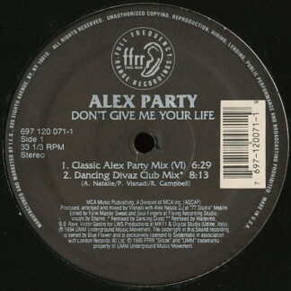 Alex Party - Don't Give Me Your Life (12