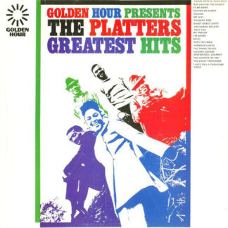 The Platters - Golden Hour Presents The Platters Greatest Hits (LP, Comp, Yel)