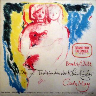 Brecht* & Weill* - Gisela May - Die Sieben Todsünden Der Kleinbürger (LP, Album, RE)