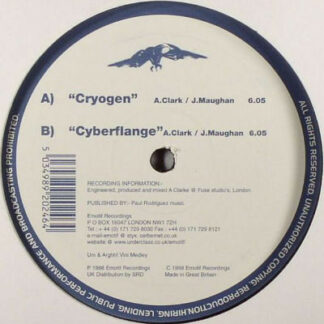 Elementz Of Noize - Cryogen / Cyberflange (12