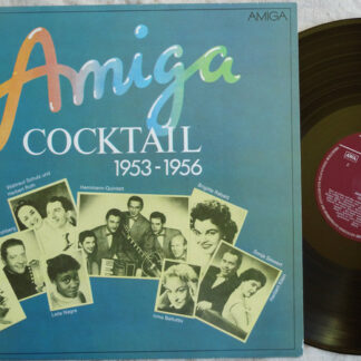 Various - AMIGA-Cocktail 1953-1956 (LP, Comp, Mono, red)