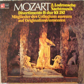Mozart*, Collegium Aureum - 2. Lodronsche Nachtmusik - Divertimento B-Dur KV287 (LP, TP, W/Lbl)